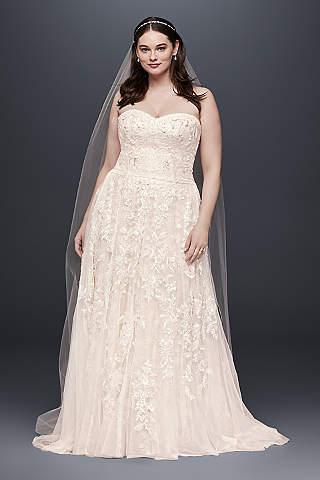 blush wedding dresses melissa sweet ANPROTD