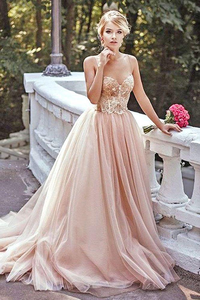 blush wedding dresses top 24 wedding dresses for celebration YJTAVZZ