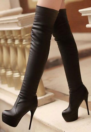boots heels over knee boots the trend for winter 2015 VUHKWVK