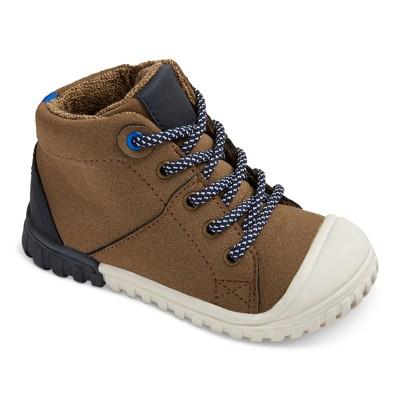 boys boots toddler boysu0027 mitch high top hiking boots cat u0026 jack™ - brown QCOOOIN
