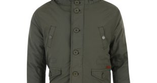 boys parka coats ben sherman boys parka coat - dk green ... EXHSUDG