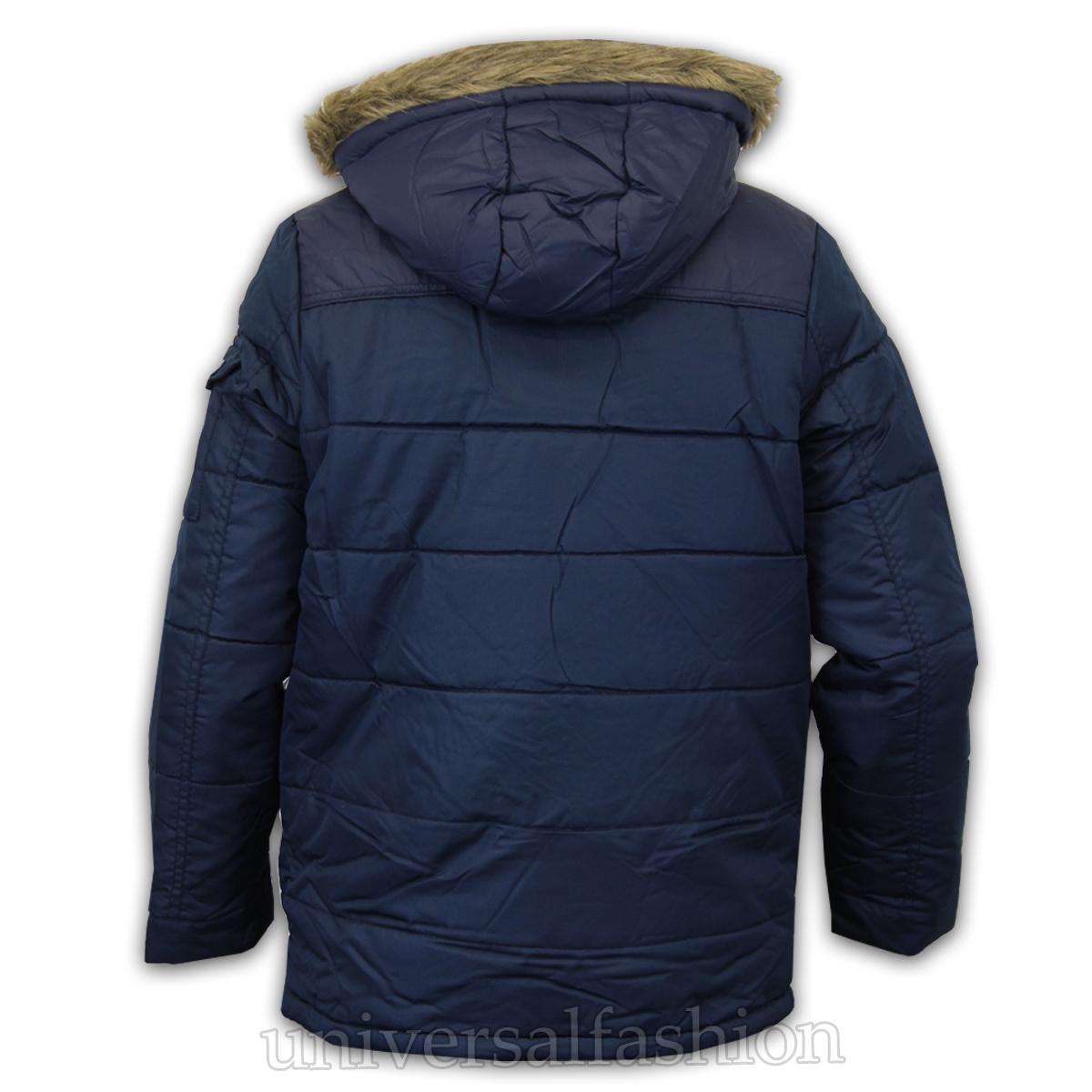 boys parka coats boys-jacket-parka-coat-brave-soul-kids-padded- QFKEPJU