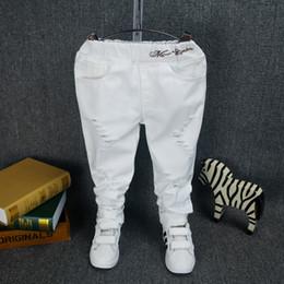 boys white pants boys girls clothing baby boys spring jeans cotton babyu0027s pants toddler kids  white NPAOJMM