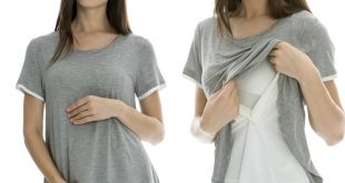 breast feeding tops maternity nursing tops breastfeeding clothes for pregnant women fashion  false two pieces chiffon DSSVJML