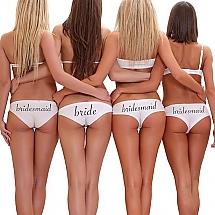 bride underwear bride u0026 bridesmaid underwear KWVWKAR