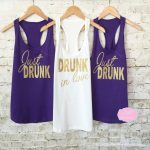 Look Gorgeous in Designer Bridesmaid Tank Top