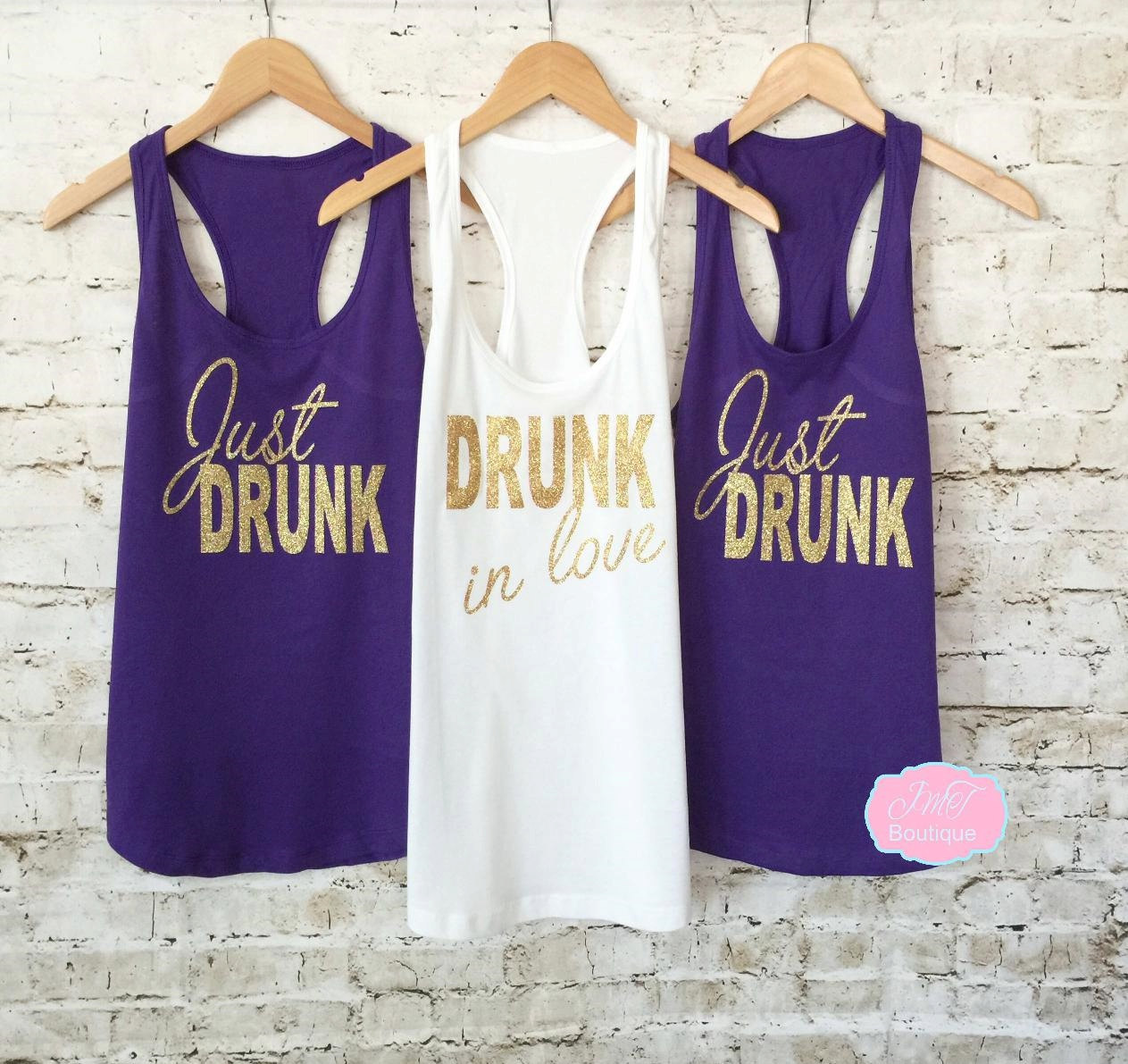 bridesmaid tank tops bridesmaid tanks. just drunk tank top. drunk in love tank. bachelorette  shirts. OODPTUY