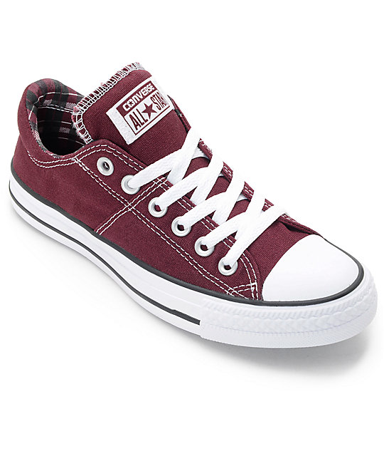 burgundy converse converse chuck taylor all star madison deep burgundy shoes YMXESRL