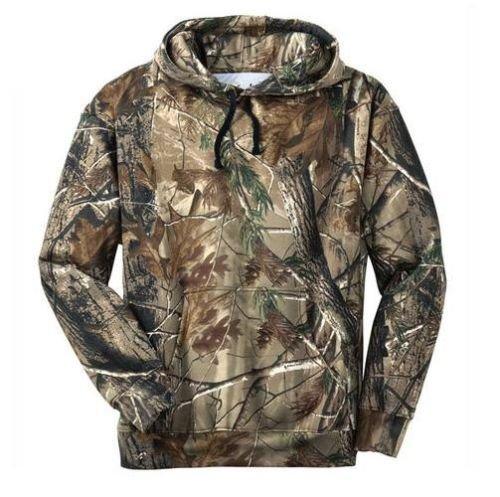 camo hoodie amazon.com: russell outdoors mens hoodie realtree ap camo hunting  sweatshirt m l xl KNFLLFN