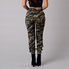 camo pants for women fashion women military army style pocket leggings camouflage camo casual  pants AXIYJSZ
