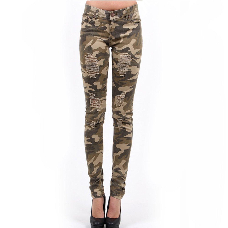 camo pants for women red fox girlsu0027 camo destoryed skinny pants 9 khaki at amazon womenu0027s  clothing KDWKYBD