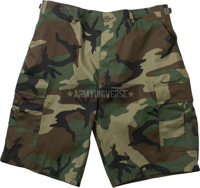 camouflage military bdu combat cargo camo army shorts | ebay QYJNDFA