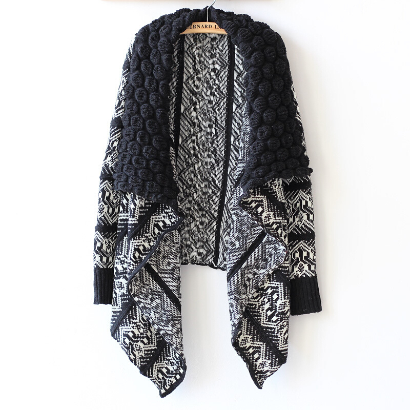 cardigans for women fashion cardigan women patchwork knitted sweaters long sleeve christmas  sweater winter jersey mujer KNJYRKM