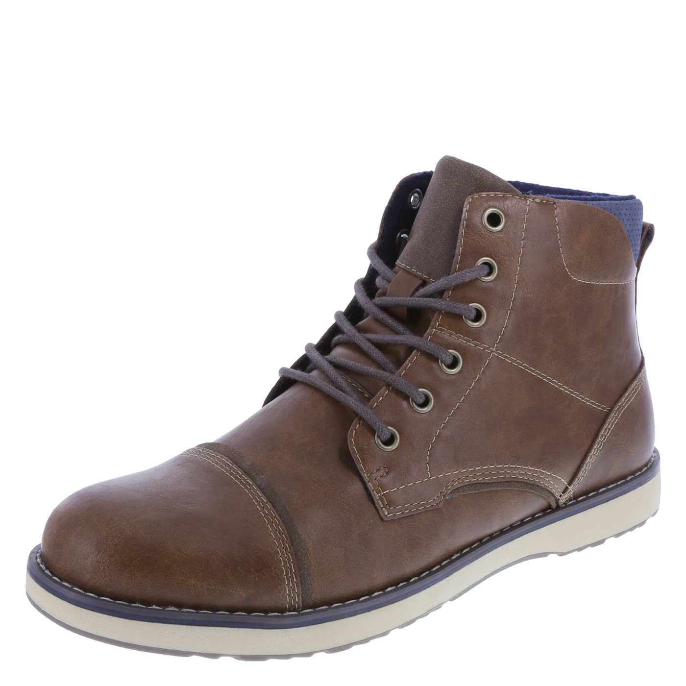 Casual Boots for Men menu0027s wagner captoe boot, cognac, hi-res AOSJPQT