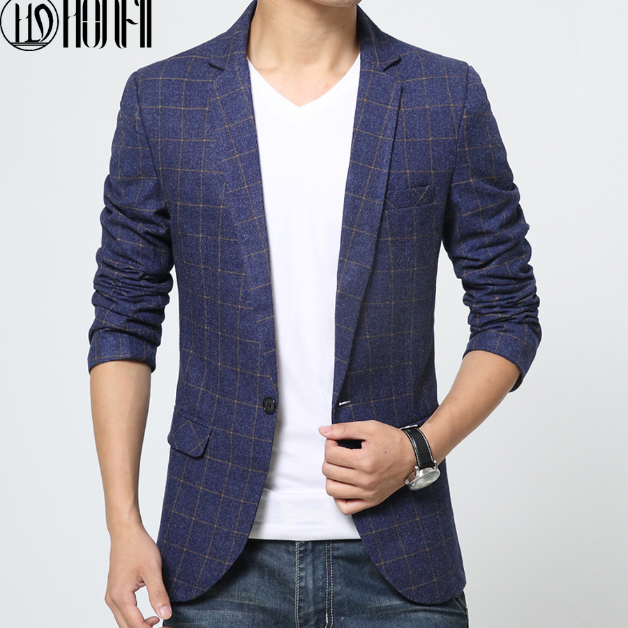 casual suits for men hot sell men new blazers single button business casual suit men spring  autumn EHMIREX