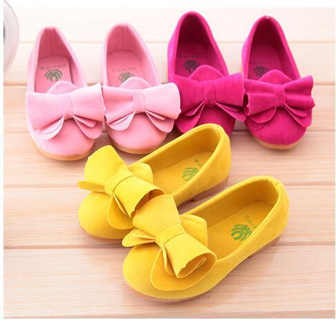 The cute and stylish children's shoes