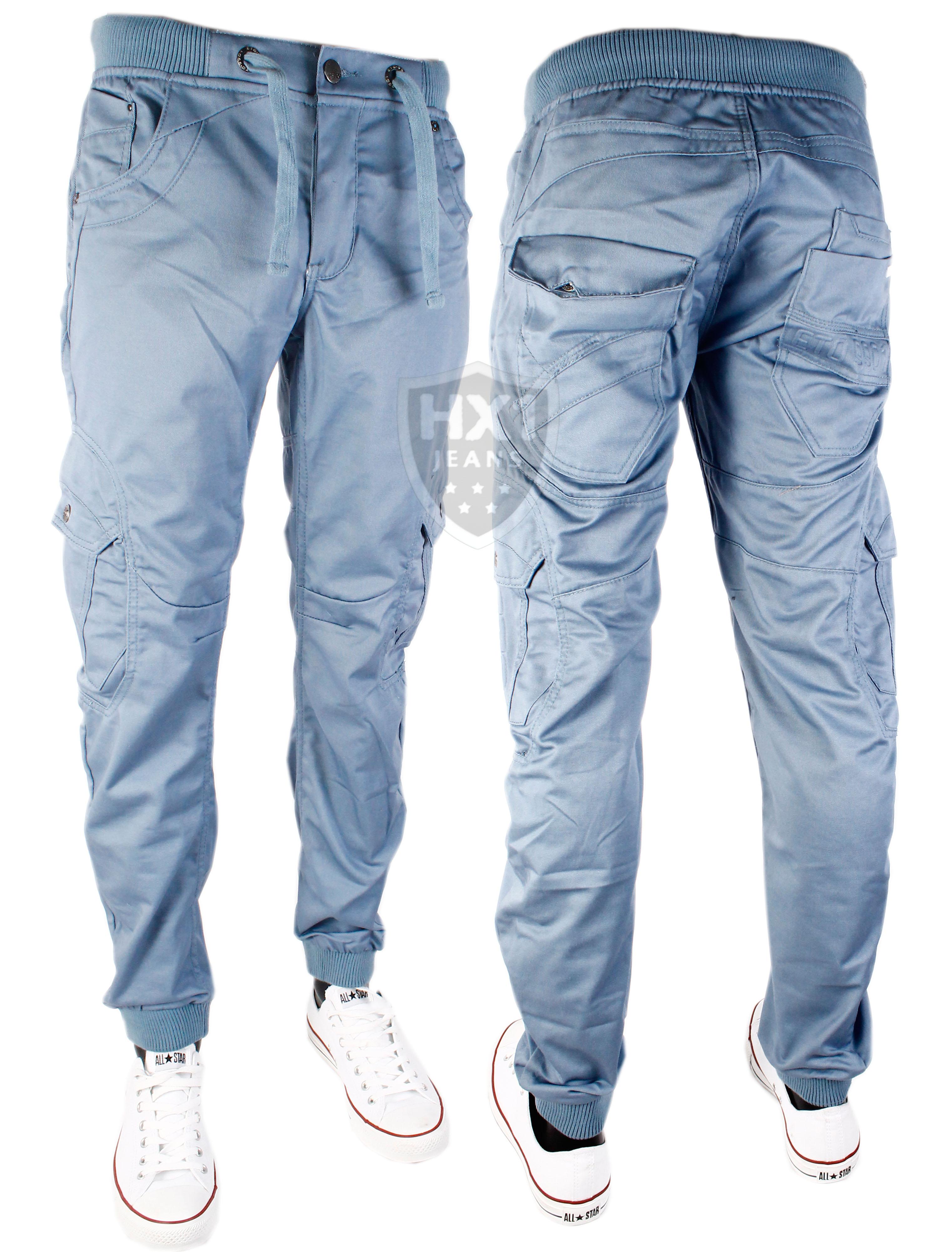 chino jeans image is loading mens-eto-em470-sky-blue-cuffed-chino-jeans- UTUXYNB
