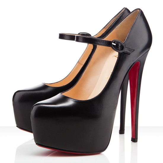 christian louboutin lady super platform mary jane pumps black,mary janes  pumps WLWOIBU