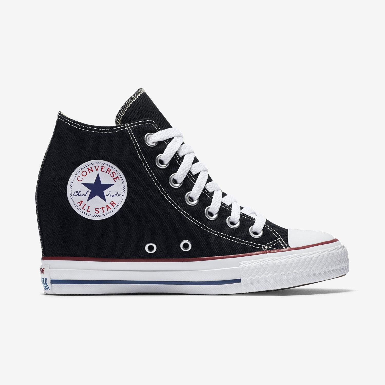 chuck taylor converse converse chuck taylor all star lux wedge mid  womenu0027s shoe. nike.