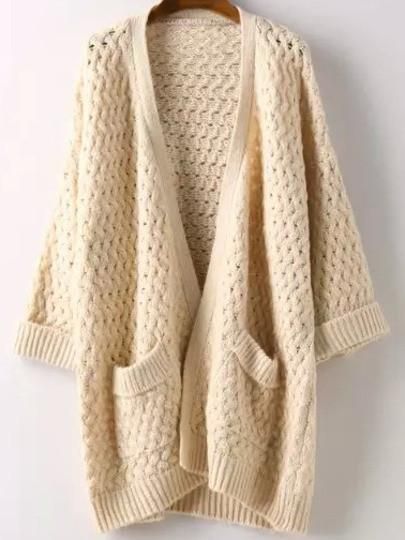 cia chunky knit cardigan QNTTRJN
