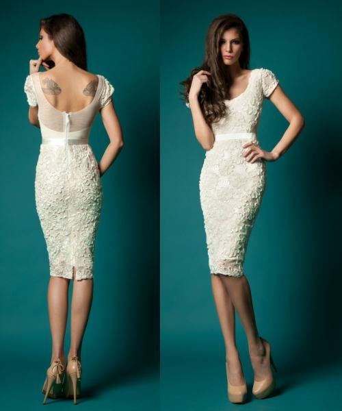 Simple and beautiful civil wedding dresses for Bridal dress for civil wedding