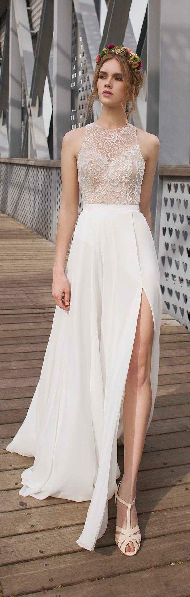 civil wedding dresses limor rosen wedding dress - olivia DLAAPGU