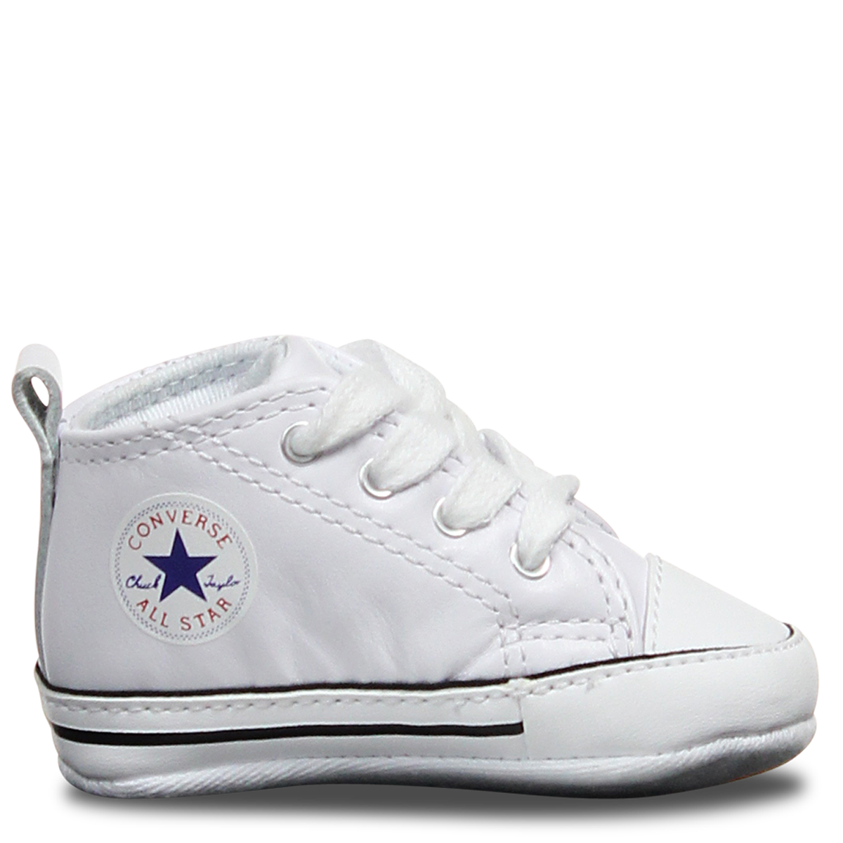 all white infant converse