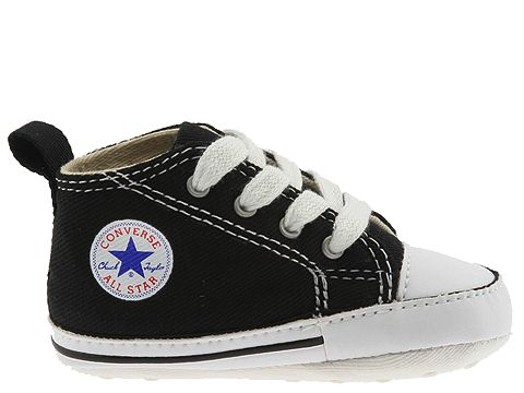 converse baby shoes converse kids chuck taylor® first star core crib (infant/toddler) at  zappos.com YMHFSUZ
