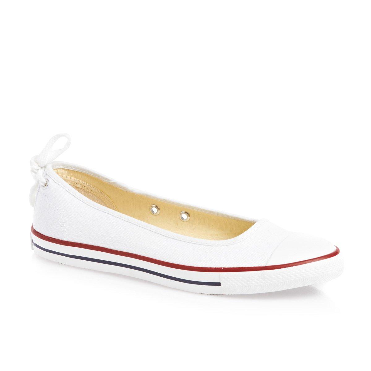 Converse Ballerina converse chuck taylor all star dainty ballerina womens trainers shoes -  white BSSAPAG