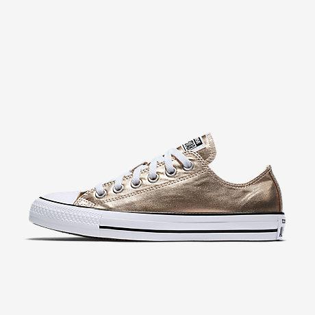 converse chuck taylor all star metallic low top womenu0027s shoe RMBWCAZ