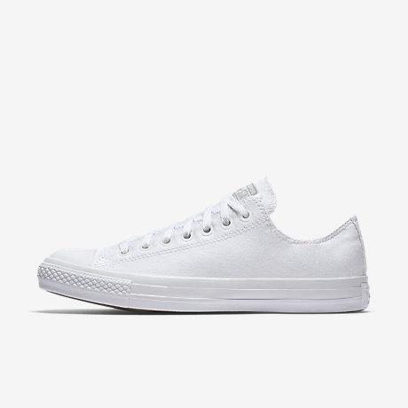 converse chuck taylor monochrome low top unisex shoe LRMJFQV