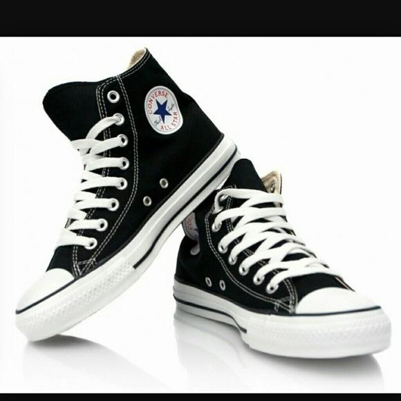 converse classic converse shoes - classic black converse nwot GYNVSNX