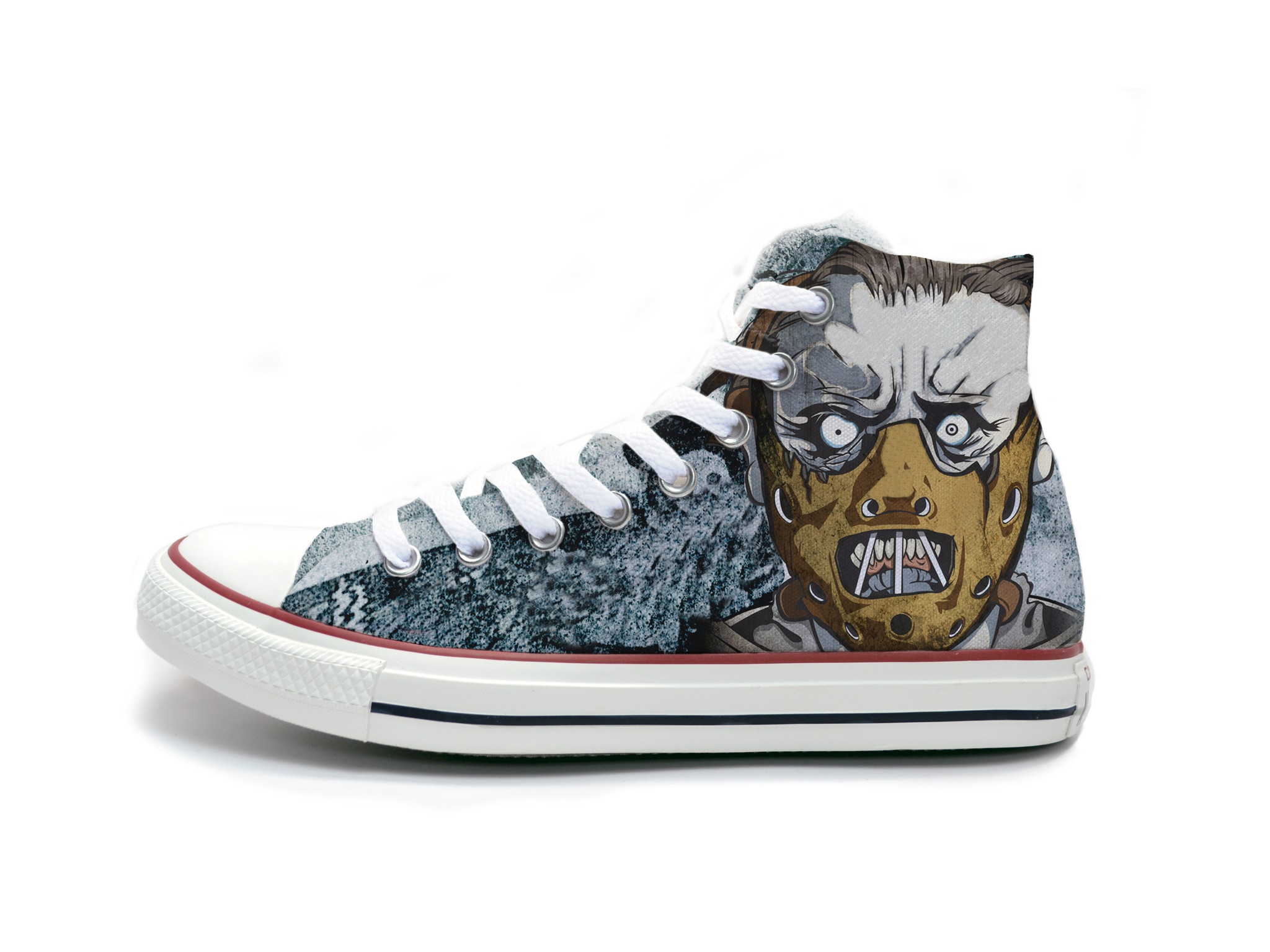 converse custom hannibal lecter shoes CBPWLJH