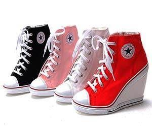 converse heels converse wedge heels IZMBHTG