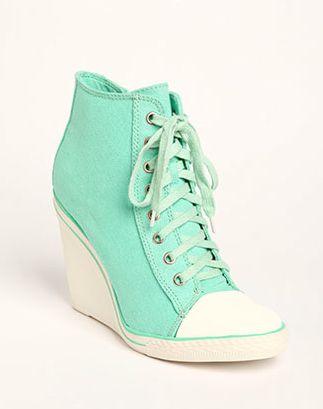 converse heels u003c3 PVULKDU