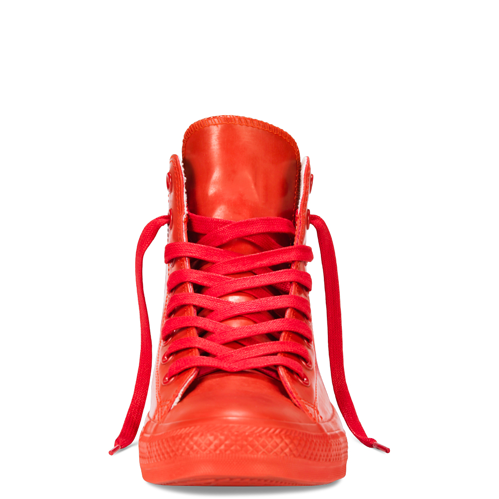 converse rubber ... chuck taylor all star rubber mono red ... JTKSAEH