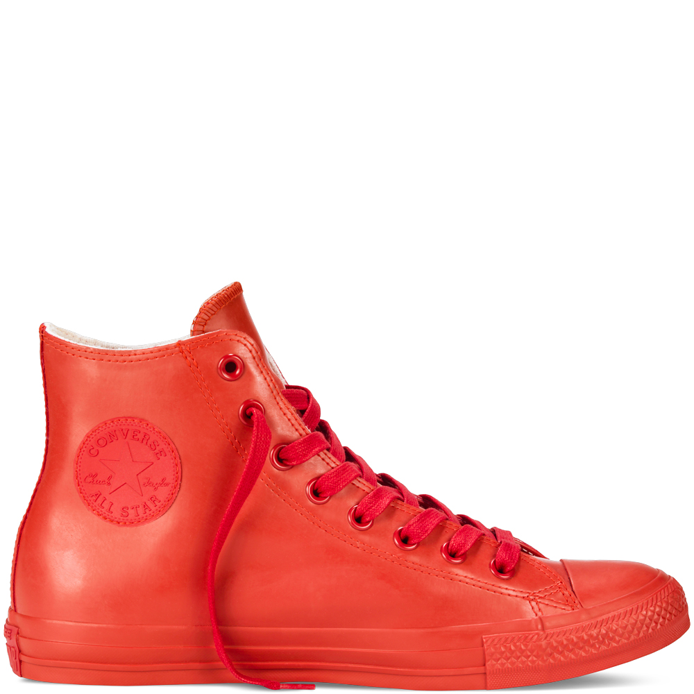 converse rubber chuck taylor all star rubber mono red red NCUIVWL
