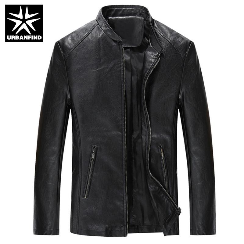 cool jackets urbanfind brand fashion men quality leather jackets size m-4xl soft pu  leather man XJFEQPR