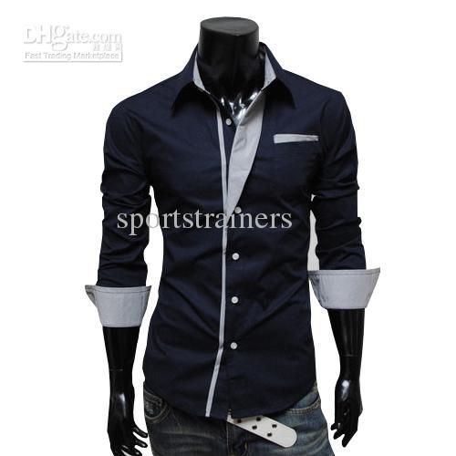 cool shirts for men ... 2015 new business shirts mens long shirt cool shirt summer collar shirt MQYSLXS