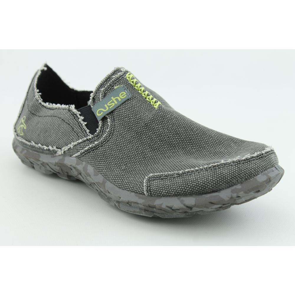 cushe shoes cushe cushe m slipper mens size 11 gray canvas loafers shoes HMTQOWE