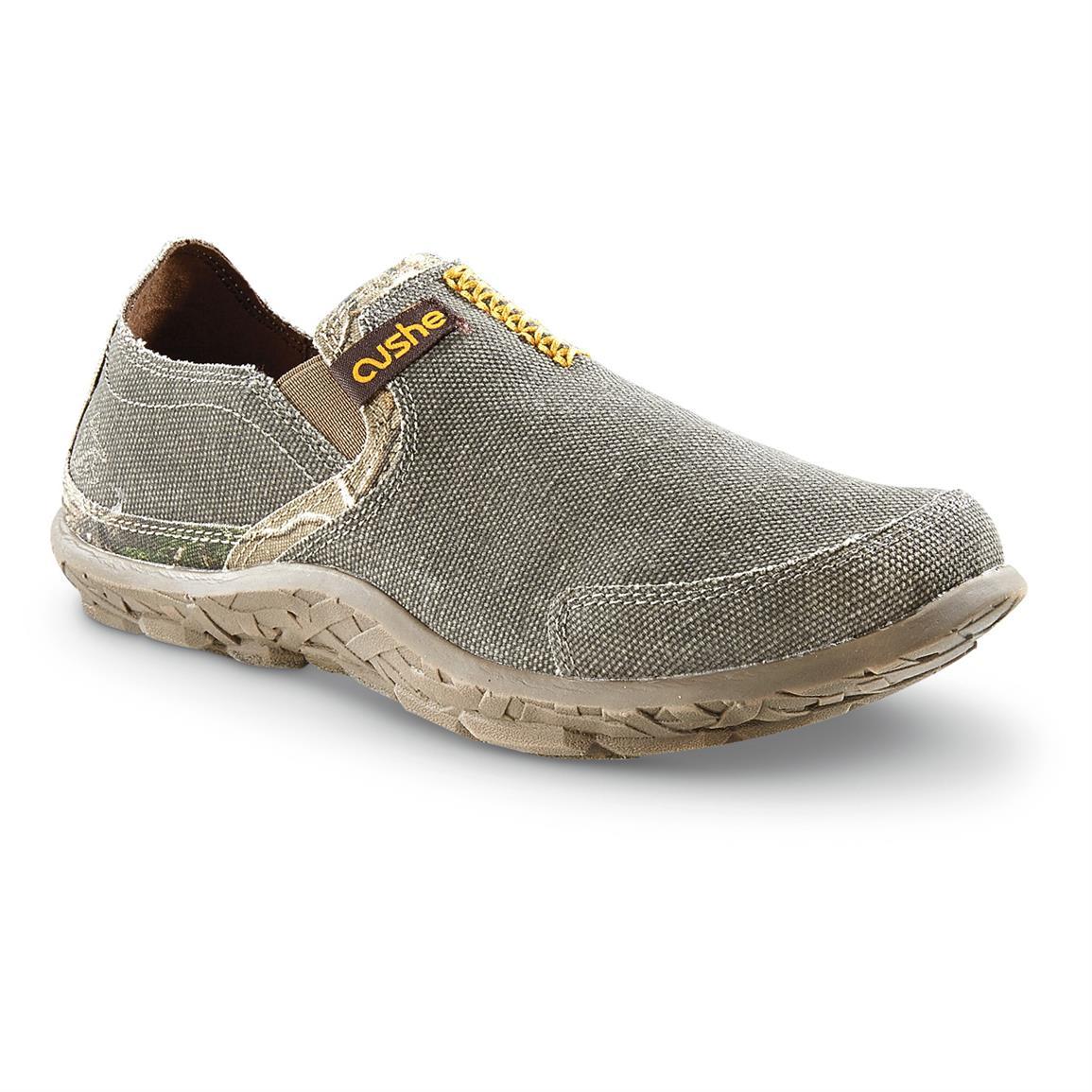 cushe shoes cushe menu0027s camo trim casual slip-on shoes TCERHJQ