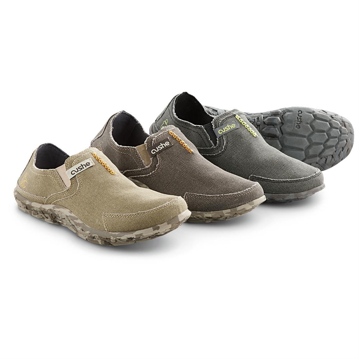 cushe shoes cushe menu0027s slipper shoes, sand / brown / black PJAIQBQ
