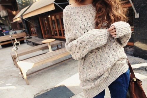 cute baggy sweaters re re BYCWWFG