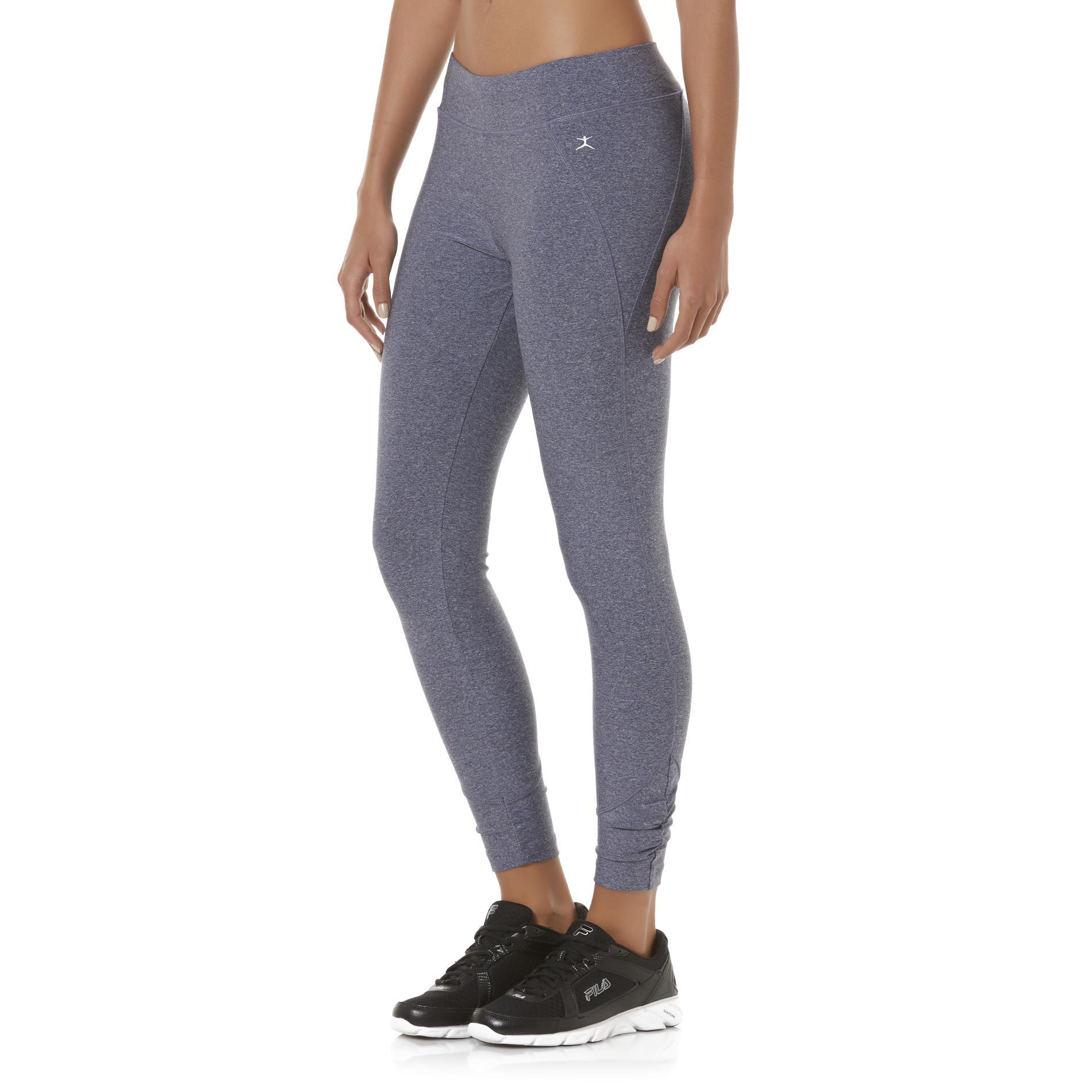 danskin womenu0027s spring fling cropped athletic leggings NQXJHFM