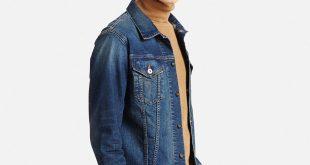 denim jacket men men denim jacket, blue, small SOSSTYC