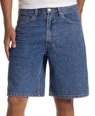 denim shorts for men leviu0027s menu0027s 550 relaxed fit denim shorts - shorts - men - macyu0027s PENMVBQ