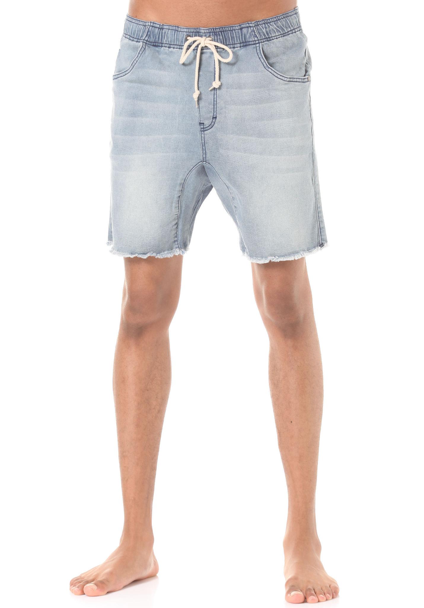 denim shorts for men rusty baller denim - shorts for men - blue - planet sports BKGQGUT