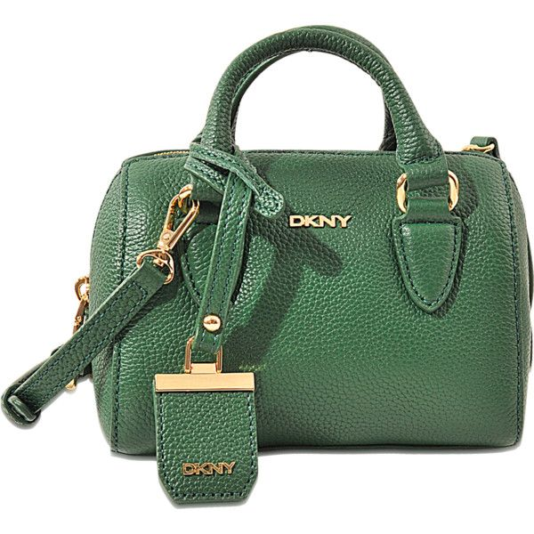 dkny bags dkny chelsea city zip mini round satchel bag ($215) ❤ liked on polyvore GHORKMC