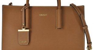 dkny bags dkny handbags bryant park tan saffiano leather tote bag (6,170 mxn) ❤ liked IOVETGZ