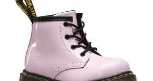 dr martens boots infant brooklee b patent WUNBCRR